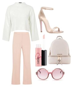 """//"" by beatriceorholm ❤ liked on Polyvore featuring STELLA McCARTNEY, MAC Cosmetics, Tom Ford, Carvela, Topshop and Michael Kors"