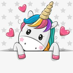 Cartoon Unicorn is holding a placard on a stars background. Cute Cartoon Unicorn is holding a placard on a stars background vector illustration Unicorn Painting, Unicorn Drawing, Cartoon Unicorn, Unicorn Art, Cute Unicorn, Unicorn Images, Unicorn Pictures, Animal Drawings, Cute Drawings