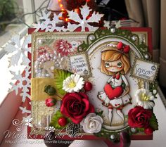 Sending you a little smile :): Merry Christmas blog hop for Alyce