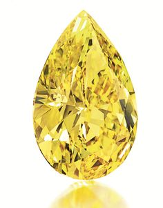 Flaming Yellow Diamond Fetches $6.5 Million at Auction!