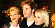 The Catching Fire premiere in Oslo, Norway: http://www.panempropaganda.com/movie-countdown/2013/11/13/sam-claflin-jena-malone-and-elizabeth-banks-in-norway-for-ca.html