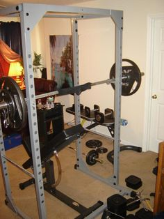 how to use a power rack squats
