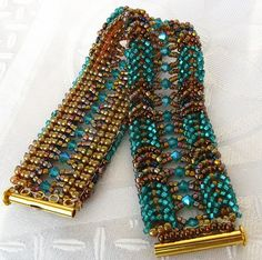 turquoise braided bracelet - Cielo Designs