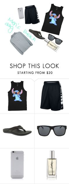 """""""Men's Beach day"""" by ryegames ❤ liked on Polyvore featuring NIKE, Orlebar Brown, Native Union, Yves Saint Laurent, Kenzo, men's fashion and menswear"""