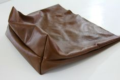 DIY Leather Tote - TaylorMade