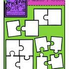 This freebie includes puzzle piece templates for a two-part puzzle and a four-part puzzle- perfect for matching activities! I have included an image of the entire puzzle, as well as the individual parts for each. Enjoy and check out my other freebies and products!