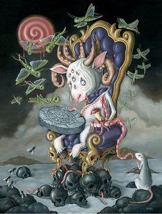 + Ilustração :   As ilustrações sinistras de Hanna Jaeun.