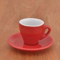 """Espresso cup Nuova Point """"Milano"""" red"""