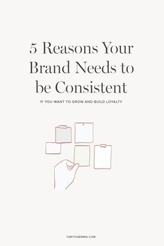 5 reasons why your brand needs to be consistent if you want to grow and build loyalty for a long lasting stand out memorable brand. Create A Brand Logo, Creating A Brand, Creative Business, Business Tips, Online Business, Business Branding, Business Marketing, Be Your Own Boss, Blog Design