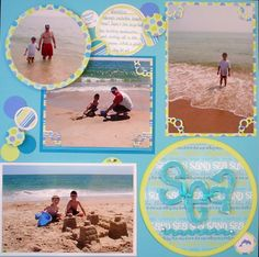 Layout: Sun, Sand, Sea - right side
