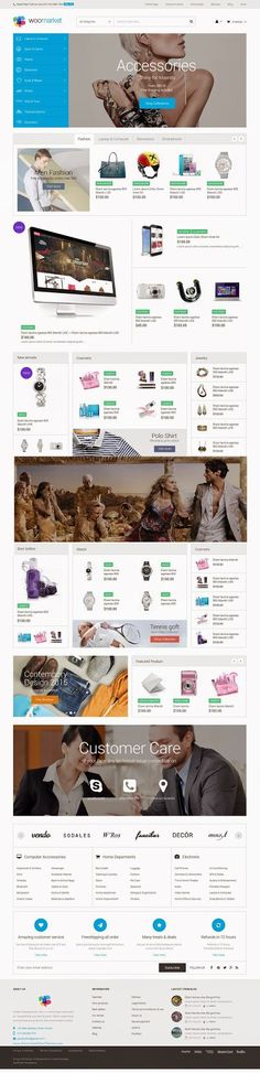 WooMarket Amazing Supermarket #WordPress WooCommerce Theme 2015