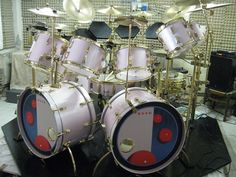 Neil Peart Double Bass Drum Set, Neil Peart, Snare Drum, Ludwig Drums, Pearl Drums, Vintage Drums, Drummer Boy, Dope Music, How To Play Drums