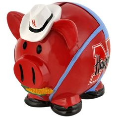 The Thematic Piggy Banks are uniquely designed with a theme of your favorite teams! Each piggy bank comes specially molded, made of resin and hand painted. Each small piggy bank is approximately 4 x 4