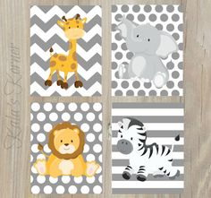 Nursery Art  Safari Nursery Decor  Jungle Nursery Decor