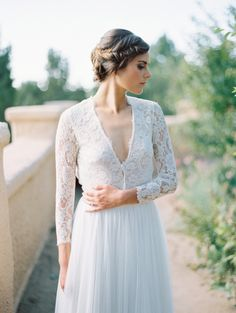 Allison Williams inspired wedding gowns to love: http://www.stylemepretty.com/collection/2826/