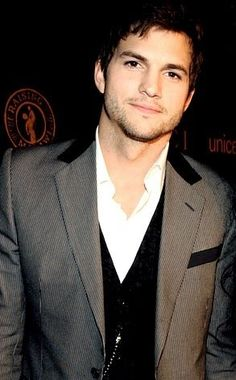 Ashton Kutcher - had to add this Iowa boy