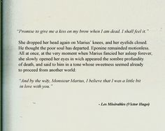 Crying forever. Eponine has always been my favorite