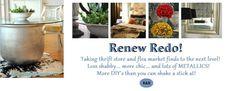 ReNew  ReDo! Shabby Chic Furniture, Garden Furniture, Painted Furniture, Diy Furniture, Furniture Plans, White Furniture, Upcycled Furniture, Furniture Projects, Diy Projects
