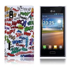 Optical (Graffiti) LG Optimus L5 Cover