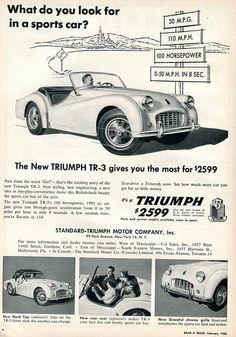 1956 Triumph TR-3.