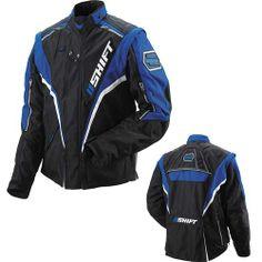 Shift XC Motorcycle Jacket 2010 Blue #motorcycle #jacket