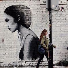 "0707 - Italian Street Artist -""Call to arms"" - London (UK) - 04/2015 - |\*/| #0707 #streetart"