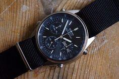 Vintage Seiko Speedmaster Analogue Quartz split time Chronograph 7A38 706A 1984