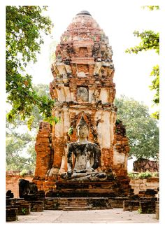 Wat Phra Mahthat, Ayutthaya by Tom Hanslien