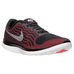 more photos ea81a 85c28 nouvelle arrivee Mens Nike Free 4.0 V5 Black Metallic Silver Bright Crimson  717988 016