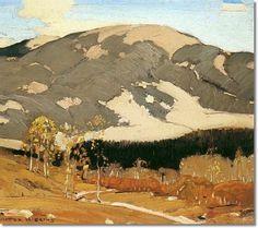 William Victor HIGGINS (1884-1949), Western Landscape 1920