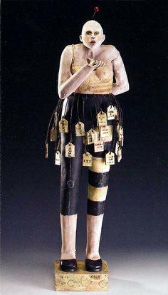 Nancy Kubale | clay / found object sculpture!