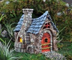 120 easy to try diy polymer clay fairy garden ideas (15)