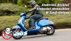 Elektrikli Bisiklete, Elektrikli Motosiklete Ehliyet, Ruhsat, Plaka Gerekir mi? Vespa, Peugeot, Honda, Motorcycle, Vehicles, Wasp, Hornet, Vespas, Motorcycles