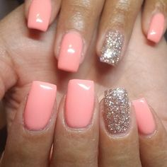 Nails #qualitywork #shape #even#classes#nailartlove #gold#coral#lightelegance #LE #nailstagram #naillife #click #whyiseveryonesoclicky #tanhands #loveyourself #lovemylife #loveit by kinkpen_