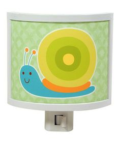 This Snail Buddy Night-Light is perfect! #zulilyfinds
