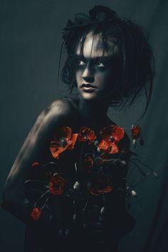 """""""Flowergirl"""" — Photographer: Kevin Scheerer - Scheerer PhotographyHair/Model: KC & PAULA"""
