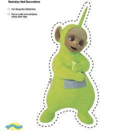 Cute dipsy cut-out