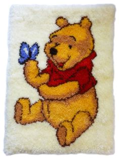 Yvonne's Anchor Pooh rug kit dppt903