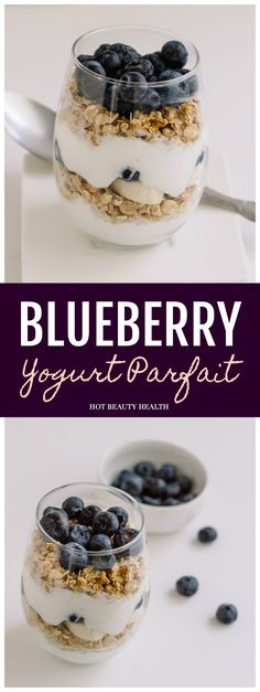This Blueberry Yogurt Parfait is the perfect #blueberrybreak to enjoy when the holiday season is bringing you a lot of stress.I mean seriously….howcan you go wrong when you have a snack that looks like this? // #sponsored @BlueberryLife @SIMPLY | Hot Beauty Health | #parfaitrecipe #blueberryparfait #healthyrecipe