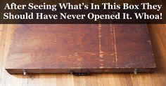 Man Found This Mysterious Box In A Dumpster. What's Inside It Is Absolutely Baffling.