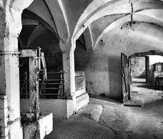 #Black #White picture from medieval barn of Schloss Möhren   Vakantie in een kasteel   Schloss Moehren   Schloss Mohren   Beieren   Duitsland   Castle   Bavaria   Germany