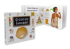 """""""O Corpo Humano""""   Um livro para descobrir o nosso corpo!    Editorial Presença"""