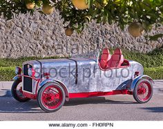 Loryc Electric Speedster - the Mallorca car by Charly Bosch, 1920 race car brand - Stock Image