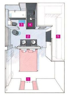 Ideas Bathroom Layout Master House Plans For 2019 Layouts Casa, Bedroom Layouts, House Layouts, 1 Bedroom Apartment, Closet Bedroom, Home Bedroom, Bathroom Closet, Bedroom Decor, Master Room