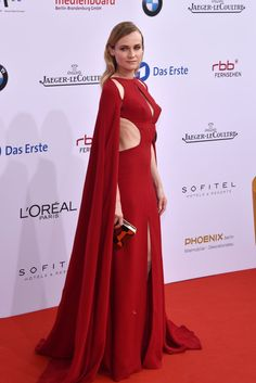 Pin for Later: This Is the Moment We Realized Diane Kruger Is Actually a Red Carpet Superhero