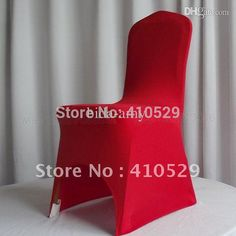 Wholesale-The Cheapest Price Red Color Lycra Spandex Chair Cover For Wedding, $389.6   DHgate.com