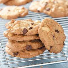 Salted Peanut Cookies Recipe -Instead of walnuts or pecans, this chocolate chip cookie recipe calls for salted peanuts. Whenever I bake these, friends and family seem to come running!