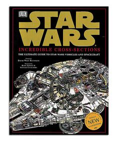 This Star Wars: The Ultimate Guide to Star Wars Vehicles & Spacecraft by Star Wars is perfect! #zulilyfinds