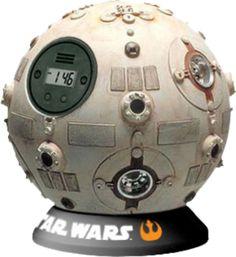 Jedi Training Ball Alarm Clock – Use the Force Luke
