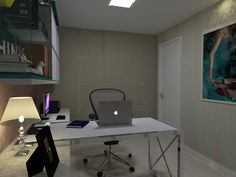 Office - Apartamento Residencial - Condomínio Ed. Cosmopolitan